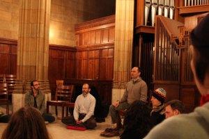 daniel ingram leads meditation